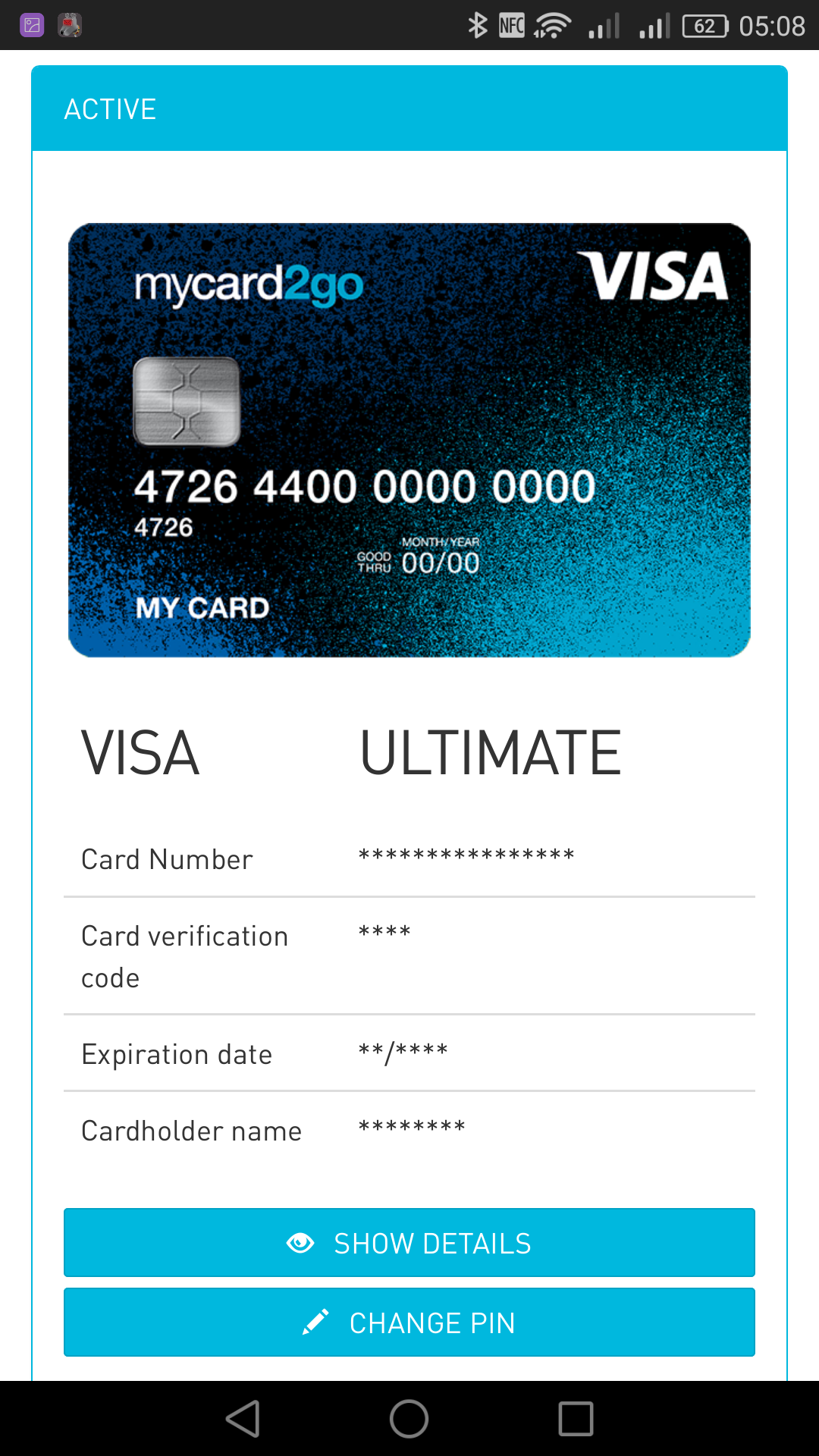 My Card2go